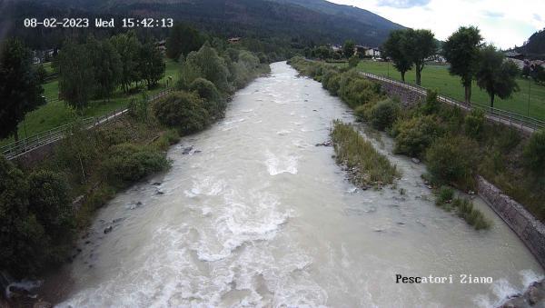 webcam Avisio Val di Fiemme