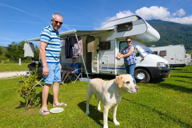 Urlaub mit Hund Camping Lago di Levico