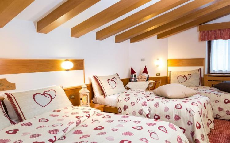 Hotel Bellavista camera per famiglia