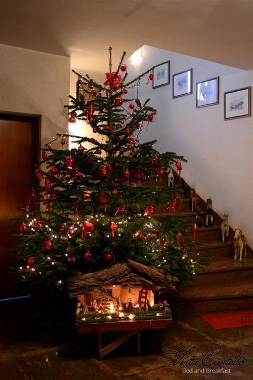 Albero di Natale - B&B Vista Castello