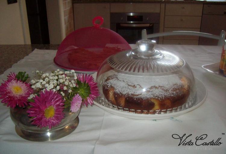 Colazioni con torte fatte in casa