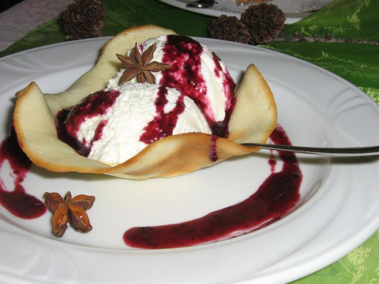Dessert, Abete Rosso, Mezza pensione