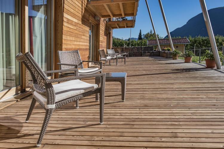 Agritur Anselmi, terrazza relax