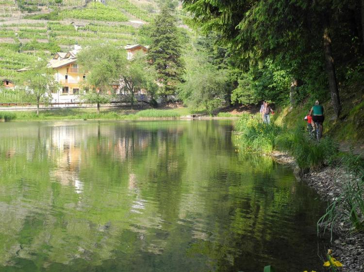 cicloturismo e trekking hotel Miralago Trento