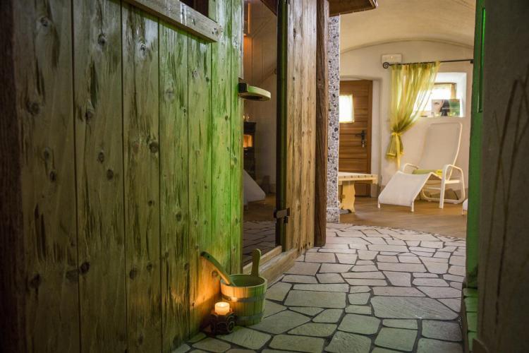 Sauna e relax nel nostra zona benessere al Laurino