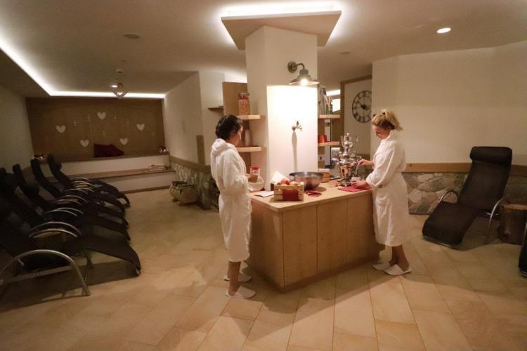 Zona Relax Saune Alpen Garten Hotel Margherita Rum