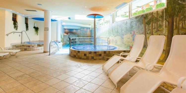 zona relax piscina