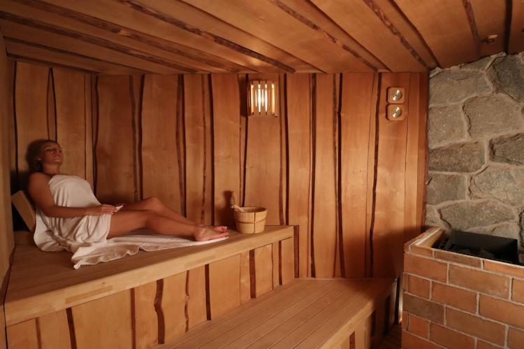 Sauna Finlandese Alpen Garten Hotel Margherita Rum
