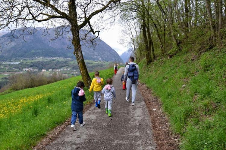 Family experience a Comano Terme