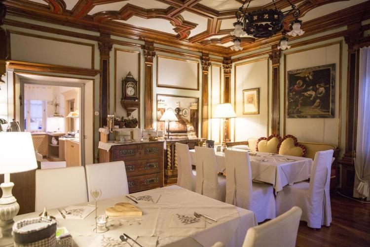 sala colazioni hotel garnì Laurino