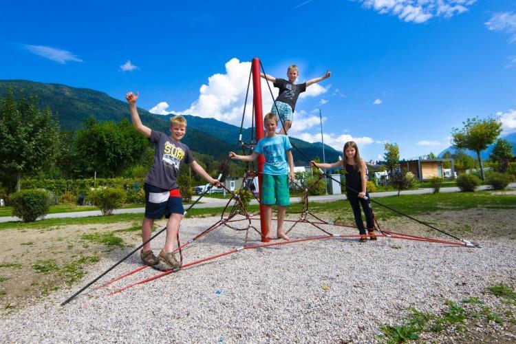 Corde per bambini Campeggio Lago di Levico
