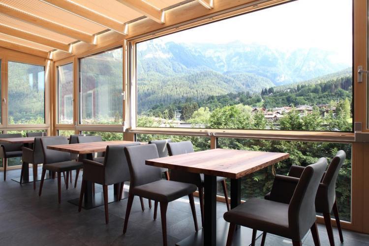 Giardino Inverno Hotel Vittoria Dimaro Val di Sole