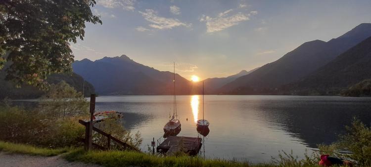 Lago di Ledro Panoramica da Cima d'oro