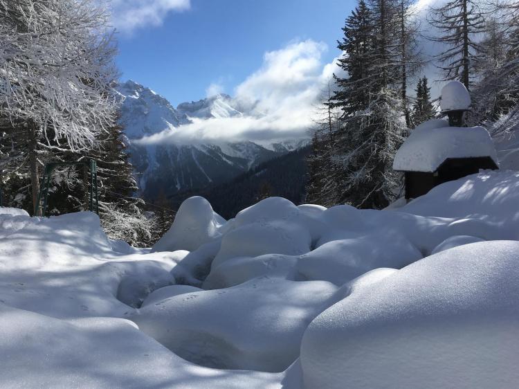 B&B La Brisa paesaggio invernale