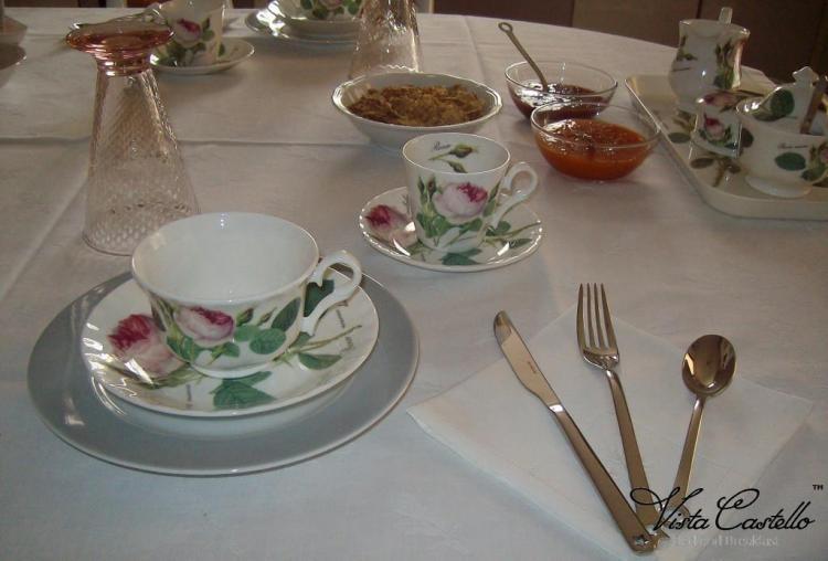 Tavolo colazioni - B&B Vista Castello