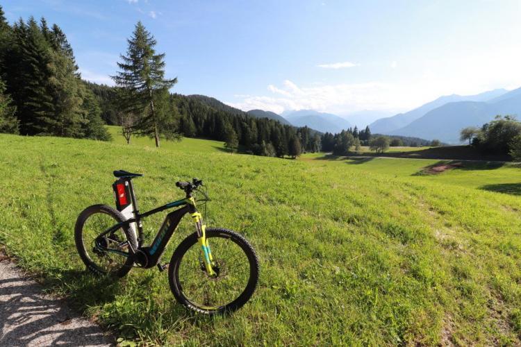 E-Bike Alpen Garten Hotel Margherita Rumo