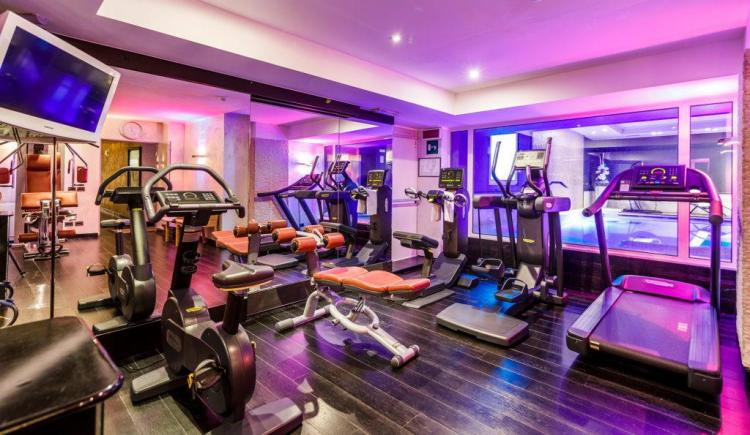 Hotel Spinale Campiglio Gym