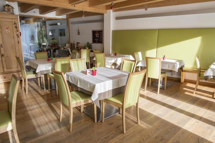 Agritur Anselmi, sala colazione