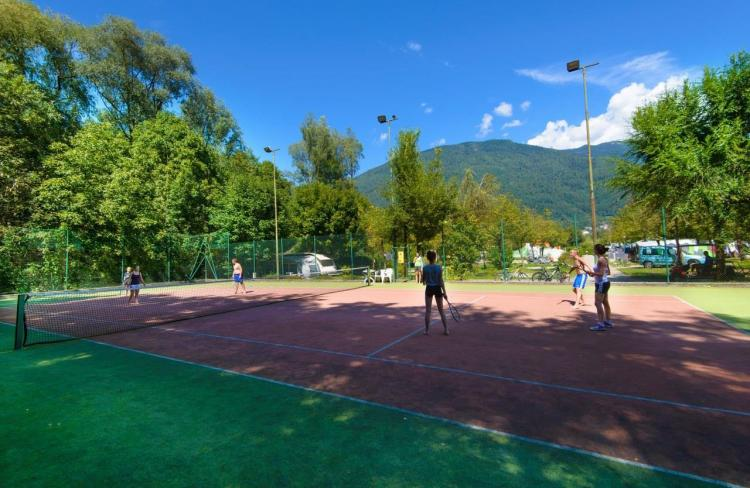 Tennis Camping Levico