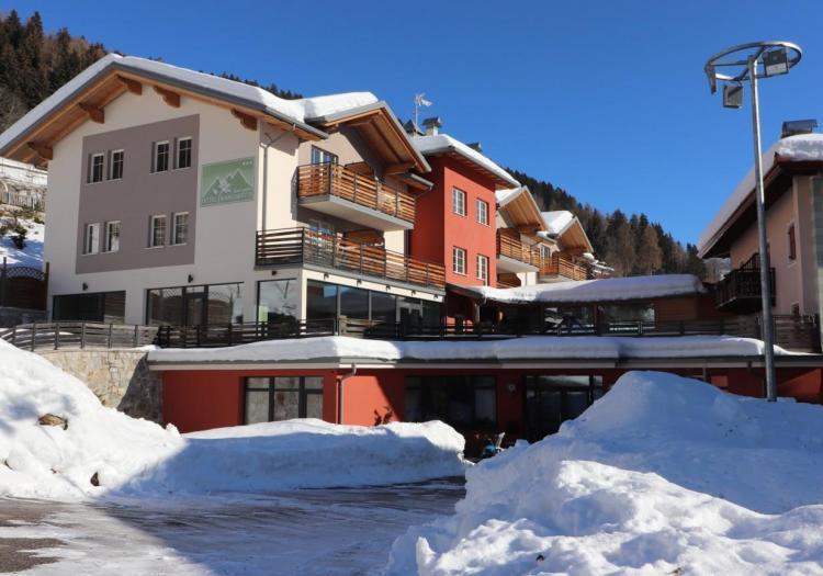 Alpen Garten Hotel Margherita inverno