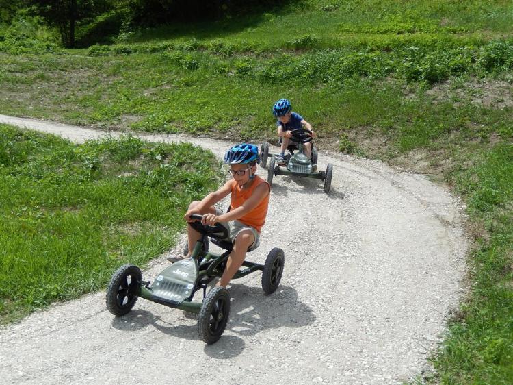 Baby bike park - go kart a pedali Hotel Vittoria