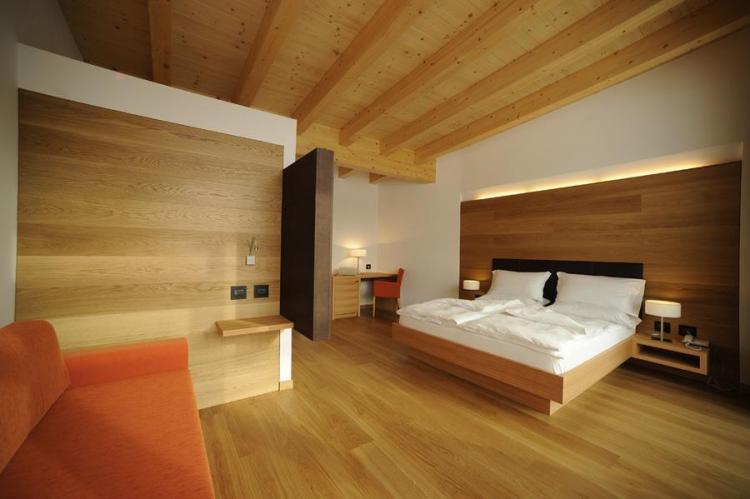 stanza  Bio Dolomites Giardino