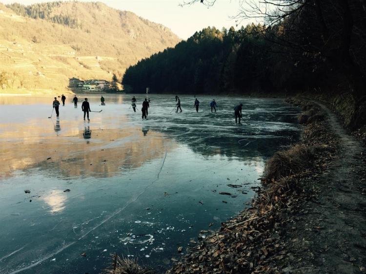 hockey pattinaggio Pergine Valsugana Trentino