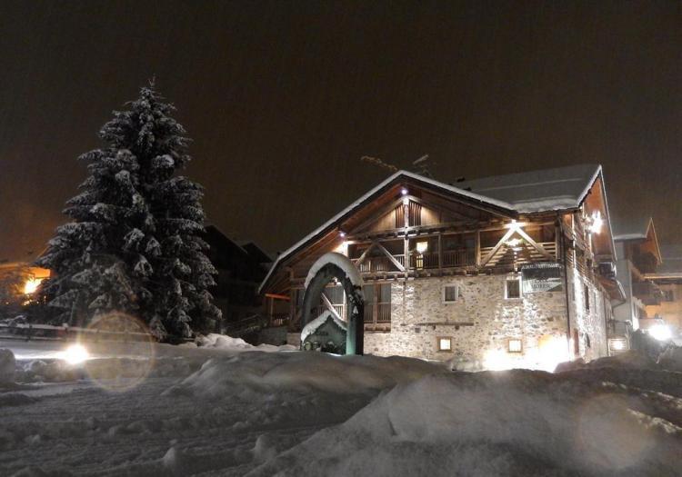 Casa Moresc Esterno Inverno