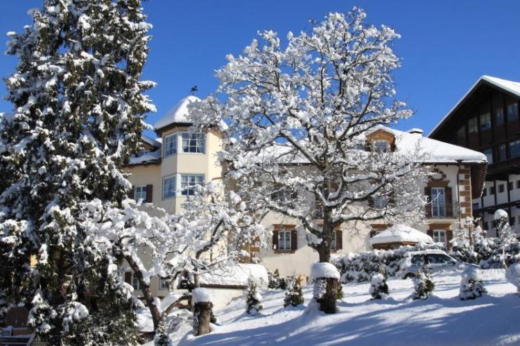 Giardino d'inverno hotel a cavalese val di fiemme