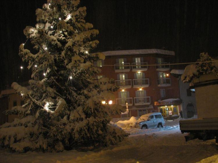 Hotel in Inverno sera