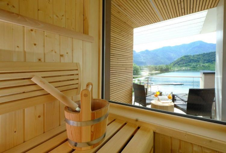 sauna family wellness suite