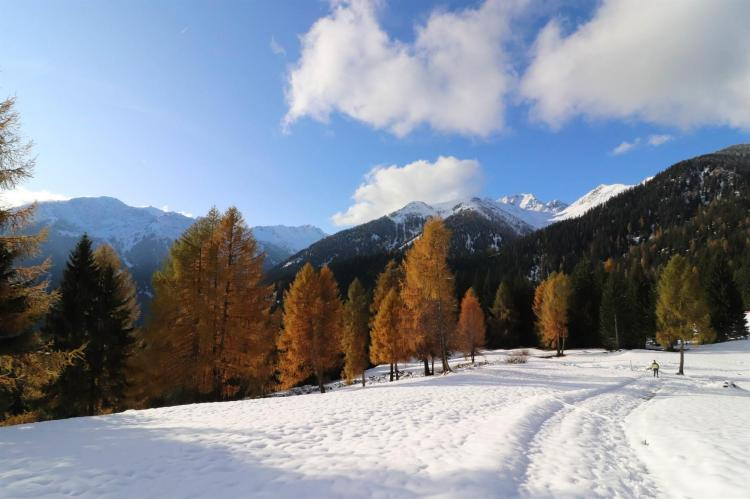 Inverno sulle Maddalene Alpen Garten Hotel Margher