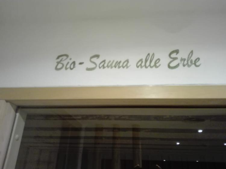 Bio Sauna alle erbe