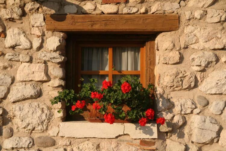 Particolare esterno di una finestra