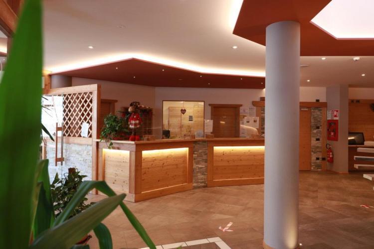 Reception Alpen Garten Hotel Magherita Rumo