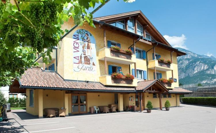 Hotel Garnì La Vigna esterno