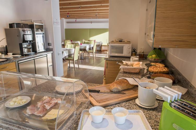 Agritur Anselmi, sala colazioni
