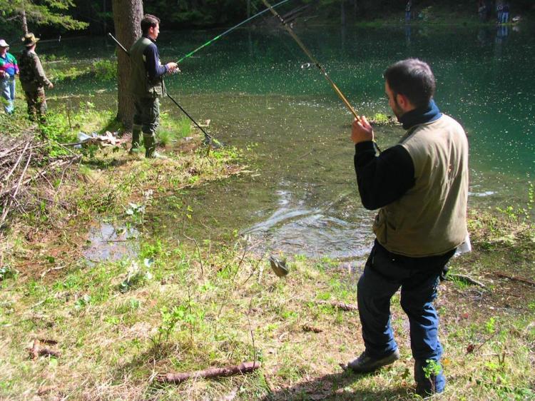 pescare in val di non