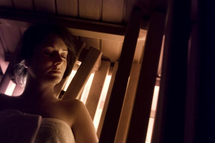 centro benessere con sauna e bagno turco
