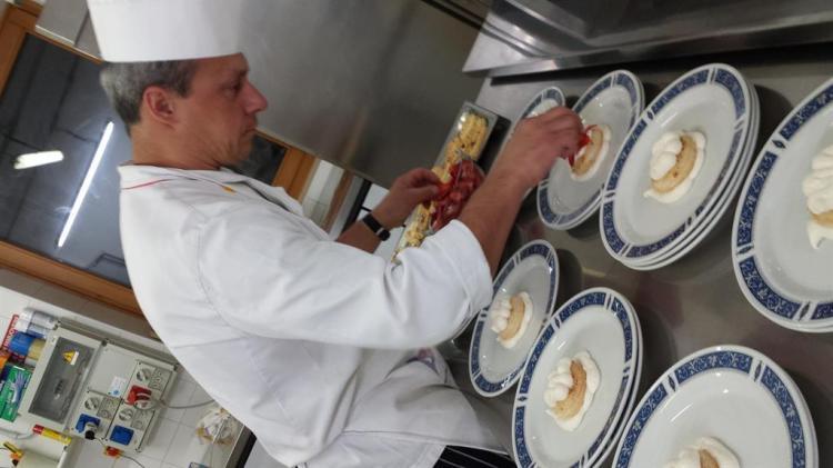 chef Oscar Carnessalini Hotel Vittoria