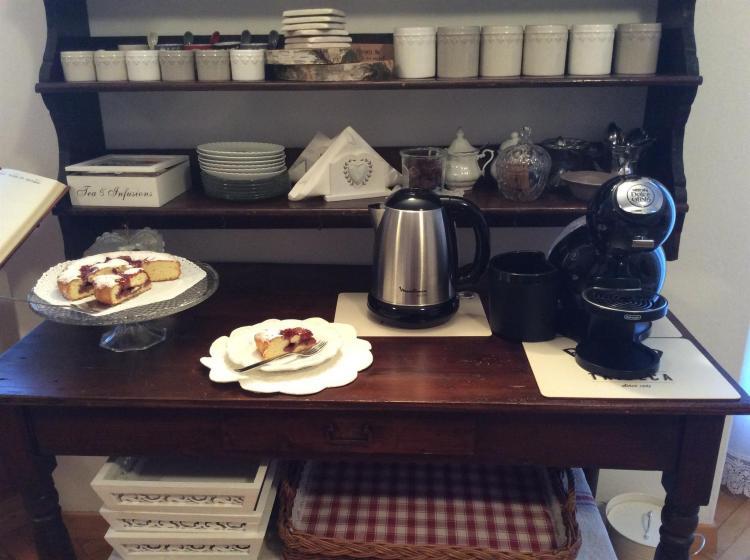 Angolo the ,tisane e caffè