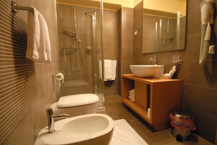 Bagno camera Cavallino/Panorama con doccia