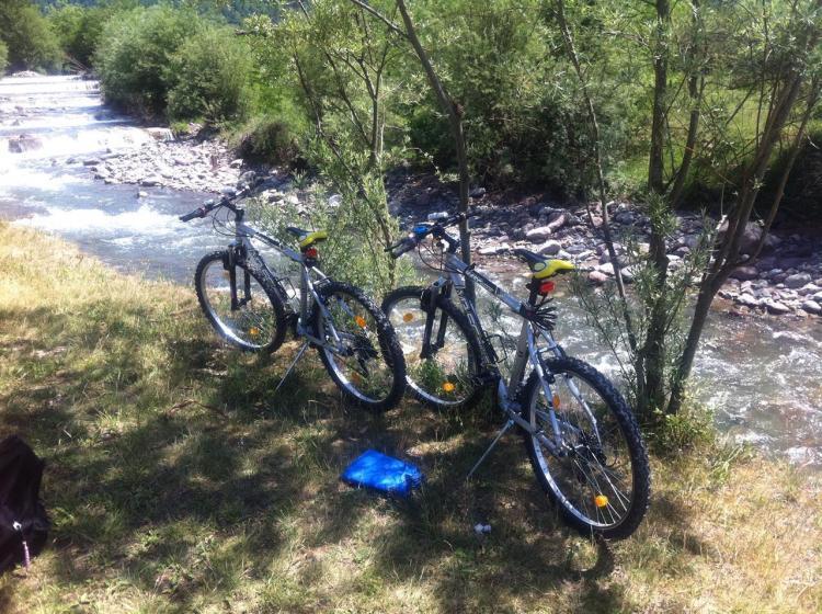 vacanze in bici fiume Fersina val dei Mocheni