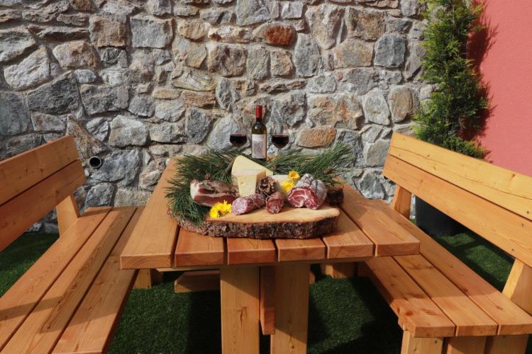 Merenda all'aperto Alpen Garten Hotel Margherita R