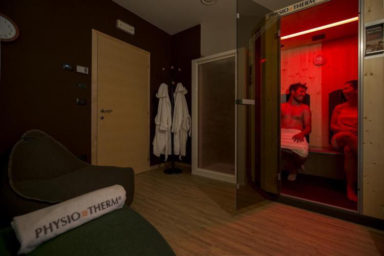 Sauna infrarossi Physiotherm