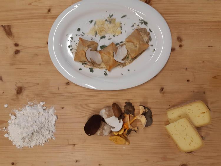 Gourmet ai Funghi Alpen Garten Hotel Margherita