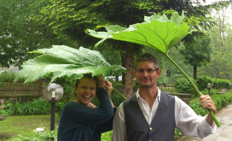 Ombrelli ecologici Hotel Sport