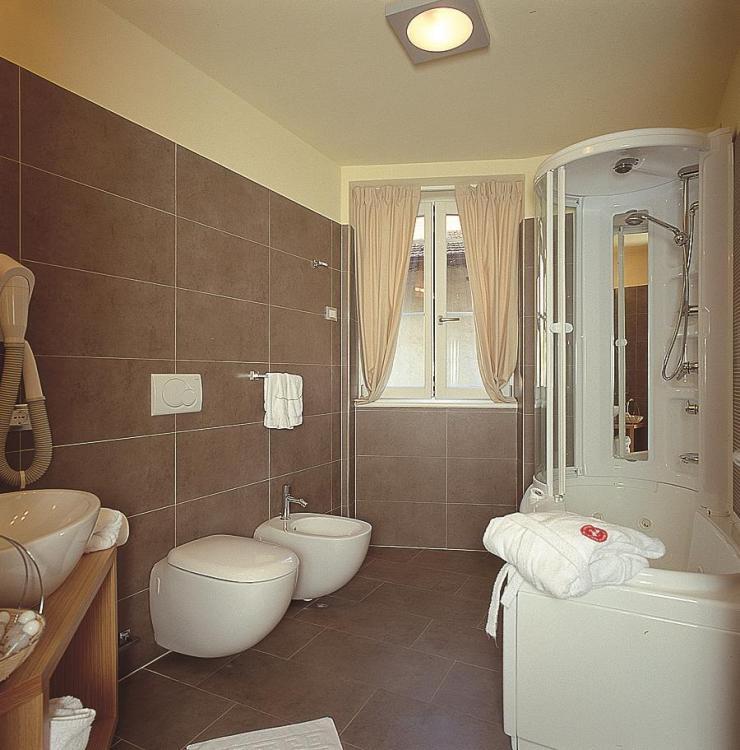 Bagno Suite con vasca idromassaggio