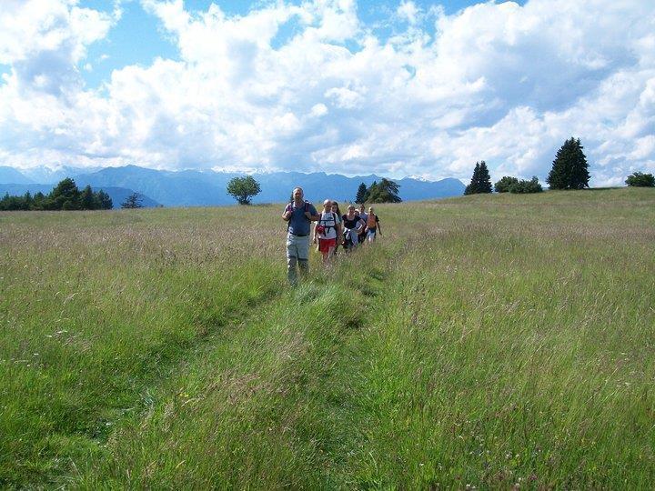 Escursione in Montagna con Thomas